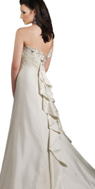 Ruffled Back Drape Gown | Autumn Dresses  Collection 2010
