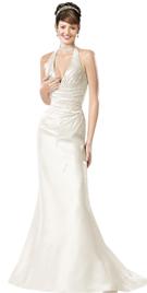 Amazing Halter Bridal Gown