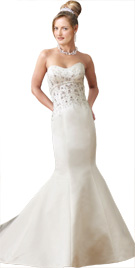 Mermaid Cut Bridal Gown | Wedding Collection 2010