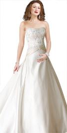 Embellished Bodice Gown | Wedding Attire