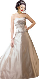 Embellished Bodice Bridal Gown | Wedding Dresses