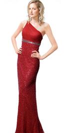 Red Evening Gown - Evening Dress