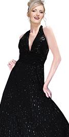 Beautiful Beaded Evening Dress