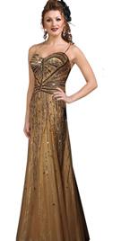 Flattering Beaded Designer Dress