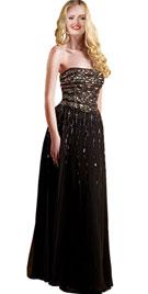 Glittering Strapless Valentines Day Gowns | Valentines Day Dress
