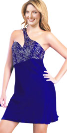 Beautiful One Shouldered Valentine Dress