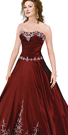 Awesome Beaded Ball Gown