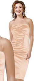 One Piece Satin Cocktail Dress