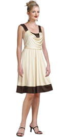 Express Your Femininity In This Silk Satin Dress buying online