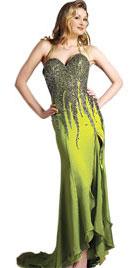 Beaded Full Length Christmas Gown | Christmas Dresses