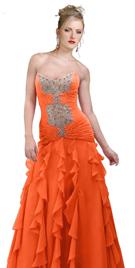 Cascading Details Designer gown
