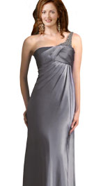One Shoulder Sheath Dress | Evening Dressses