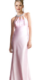 Floor-Length Column Gown