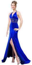 Halter Fall Gowns |Fall Dress