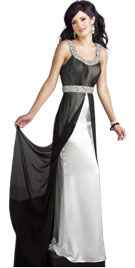 Luxurious Beaded Fall Gown