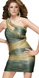 Alluring Ruche One Shoulder Dress | Fall Dresses