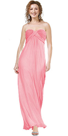 Fall Gown With Pink Color Gives Amazing Look