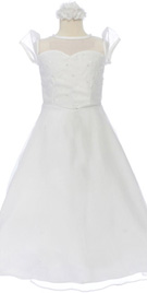 Sweetheart Neckline Flower Girl attire