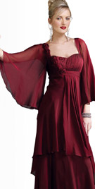 Magnificent Bell Sleeved Dress | Thanksgiving Dresses 2010