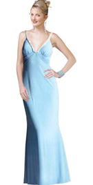 Buy Online Rhinestone-Studded Homecoming Gown