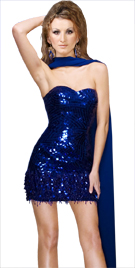 Sweetheart Neckline Mini Dress | Evening Dresses Gowns