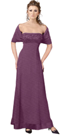 Buy Online Beaded Bust Mother Of The Bride Dress