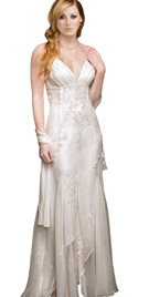 Buy Online Flared Mother Of The Bride Dress