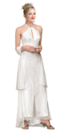 Buy Online Keyhole Designed Mother Of The Bride Dress