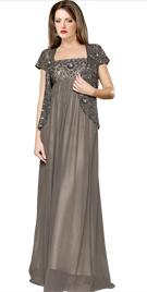 Embellished Mother Of Bride Gown |wedding Dresses