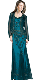 Ornate Mother Of Bride Gown | Wedding Dresses For Mothers