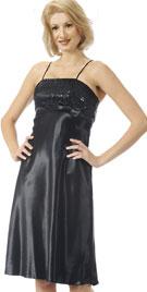 Sexy Bodice Black Dress