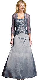 Buy Online Iridescent Taffeta Ball Gown