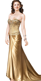 New Awesome Strapless Sweetheart Neckline Gown