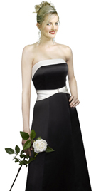 New Trendy Body Slimming Satin Daytime Dress