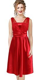 New Stupendous Knee-Length Romantic Daytime Dress