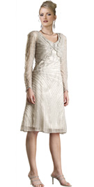 Beaded A Line New Year Collection Dress