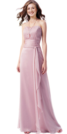 Sweetheart Strapless Womens Day Gown | Designer Strapless Womens Day Gowns