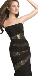 Strapless New Year dresses 2012
