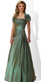 Pleated New Year Eve Dress 2012