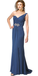 One Shoulder Prom Gown | Prom Party Wear