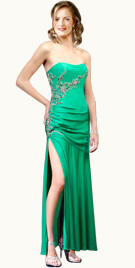 High Slit Prom Gown | Prom Dresses