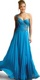 Buy Eternal One Shoulder Prom Gown