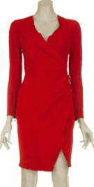 Balmain Inspired Vintage Jersey Dress