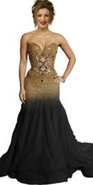 Shakira Grammy Inspired Red Carpet Dress