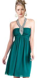 Halter A-Line Dress   Sex And City Fashion Outfit