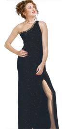 Dazzling One Shoulder Spring Dress