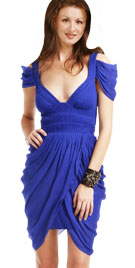 Flirty Pleated Spring Short Dress