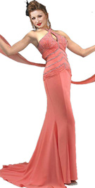 Beautiful Chiffon Evening Gown