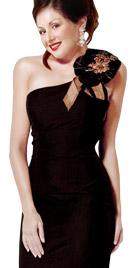 One Shoulder Mermaid Cut Dress   Online Winter Dresses