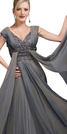 Gracefully Flowing Winter Gown | Winter Dresses